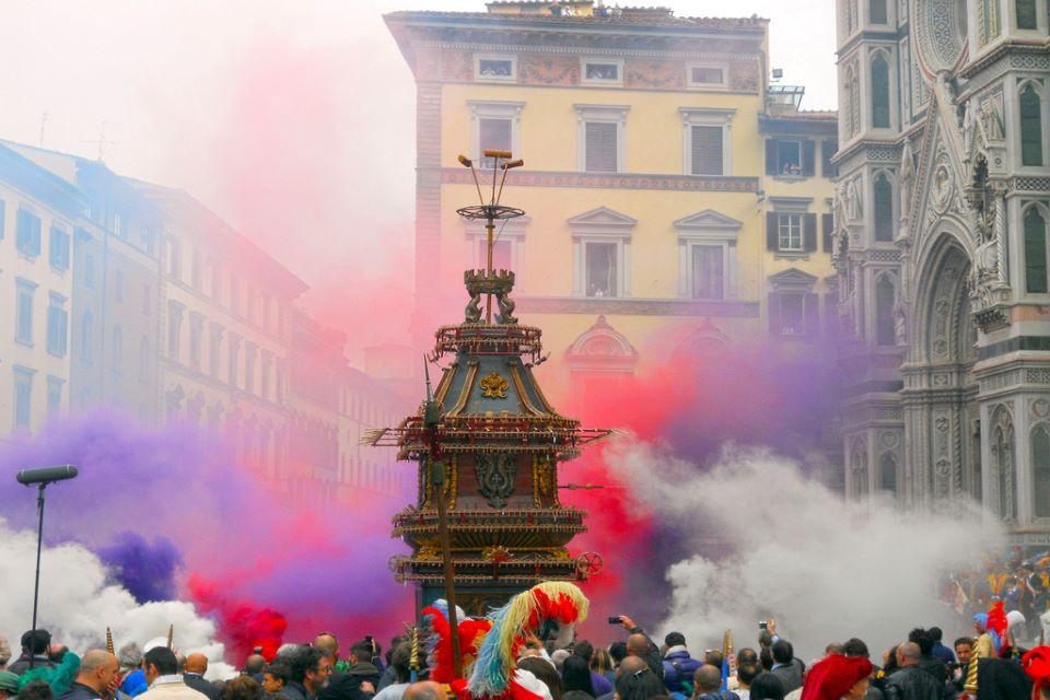 Pasqua a Firenze: Scoppio del Carro